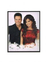 Donny & Marie Osmond Autograph Signed Photo